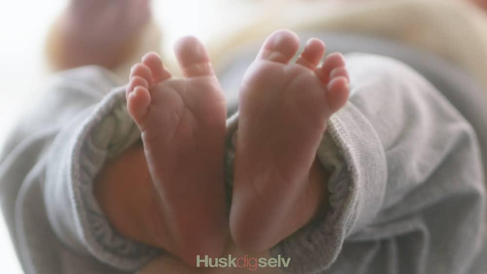 Zoneterapi til baby