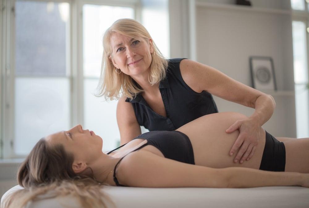 Fødselsmodnende zoneterapi